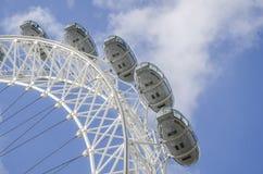 London eye. In london, england Royalty Free Stock Image