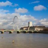London Eye Stock Photography