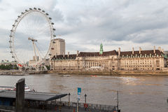 London Eye England Stock Image