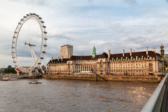 London Eye England Stock Photography