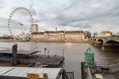 London Eye England Royalty Free Stock Images