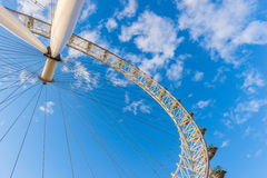 London Eye, February 2014 Royalty Free Stock Photos