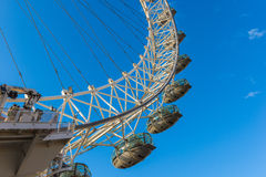 London Eye, February 2014 Royalty Free Stock Photo