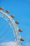 The London Eye Ferris wheel close up in London, UK Royalty Free Stock Photo