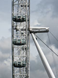 The London Eye Ferris Wheel England Stock Photography
