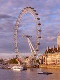 London eye Ferris Wheel stock images