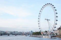 London eye, ferris wheel in a summer afternoon Stock Photo
