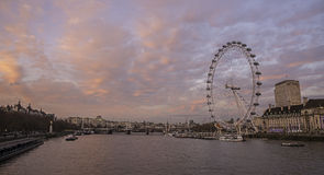 London Eye Royalty Free Stock Photos