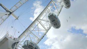 London Eye ferry Wheel Stock Photo