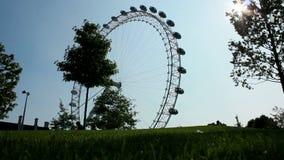 London Eye stock video footage