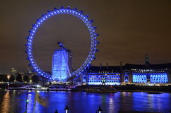 The London Eye Stock Image