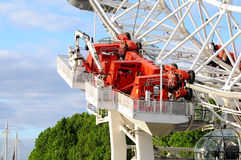London eye - hydraulic drive Royalty Free Stock Images
