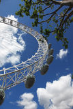 London Eye on June 7, 2011 in L Royalty Free Stock Image