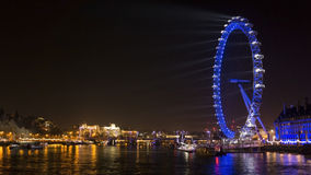 London Eye - LDN stock photography