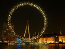 The London Eye in London Stock Images