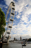London Eye in London city Royalty Free Stock Photo