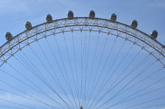 London Eye in London, England Royalty Free Stock Image