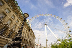 London Eye, London, England, the UK. Royalty Free Stock Image