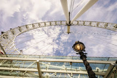 London Eye, London, England, the UK. Stock Photos