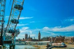 The London Eye, London. Stock Photo