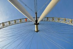London eye. London, Great Britain Royalty Free Stock Image