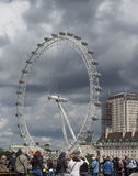London Eye in London Royalty Free Stock Images