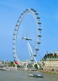 London Eye, in London, United Kingdom Royalty Free Stock Photo
