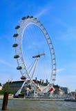 London Eye, in London, United Kingdom stock images