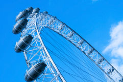 London Eye in London, United Kingdom Royalty Free Stock Photo
