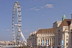 The London Eye, London, United Kingdom Stock Photos