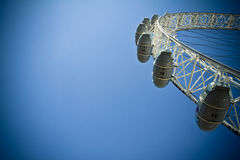 London Eye Millenium Wheel Royalty Free Stock Photos