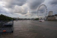 The London Eye or Millenium Wheel Stock Images