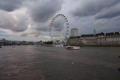 The London Eye or Millenium Wheel Royalty Free Stock Photos