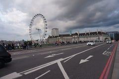 The London Eye or Millenium Wheel Stock Photos