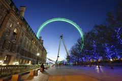 London Eye, Millennium Wheel Stock Photos