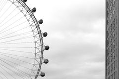 London Eye, the millennium wheel Royalty Free Stock Image