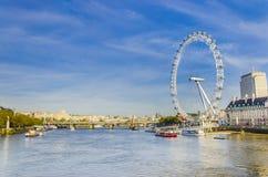 London eye, millennium wheel Stock Photo