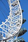 London Eye. A modern landmark in London, England Royalty Free Stock Photography