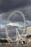 London Eye by night Stock Images