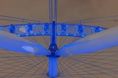 London Eye at night Royalty Free Stock Images
