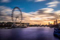 The London eye Royalty Free Stock Photography