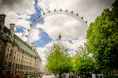 The London Eye Panoramic Wheel Stock Photo