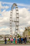 The London Eye Panoramic Wheel Royalty Free Stock Photos