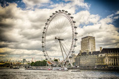 The London Eye Panoramic Wheel Stock Images