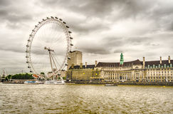 The London Eye Panoramic Wheel Royalty Free Stock Photography