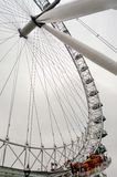 The London Eye Panoramic Wheel. London, UK stock photography