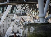 London Eye pod closeup Stock Images