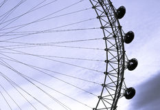 London Eye pods Royalty Free Stock Photography