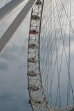 London Eye Profile Royalty Free Stock Photography