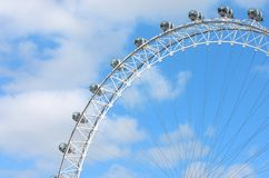 The London  eye Royalty Free Stock Photo
